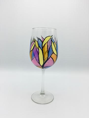 Stained Glass - Wine Glass