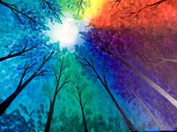 Prism Grove Paint Night by Paint & Cocktails